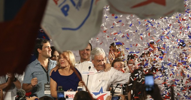 Ex-President Pinera leads Chile vote, but faces runoff