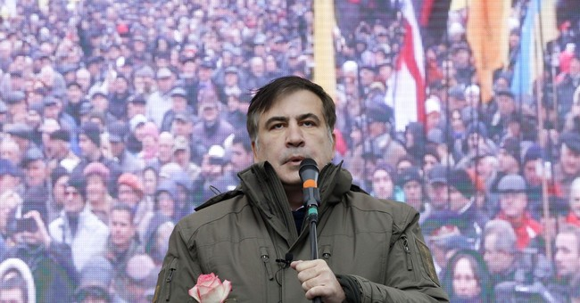 Ex-Georgian leader Saakashvili challenges Ukraine government