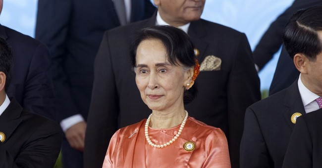 Correction: Myanmar-Foreign Ministers story