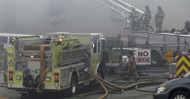 People hurt in cosmetics factory explosions, fire tops 125