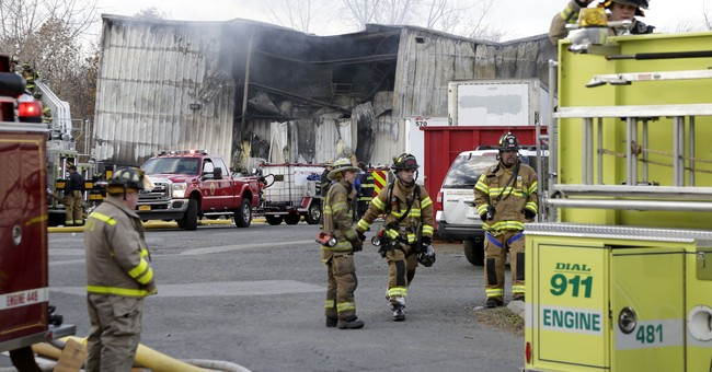 The Latest: Man says factory co-worker died in 2nd blast