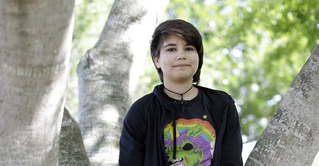 Trans teen's war with his body started when he was just 10