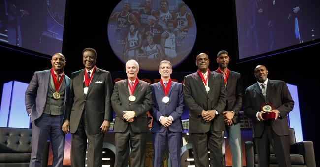 Duncan, Stockton headline college hoops Hall of Fame class