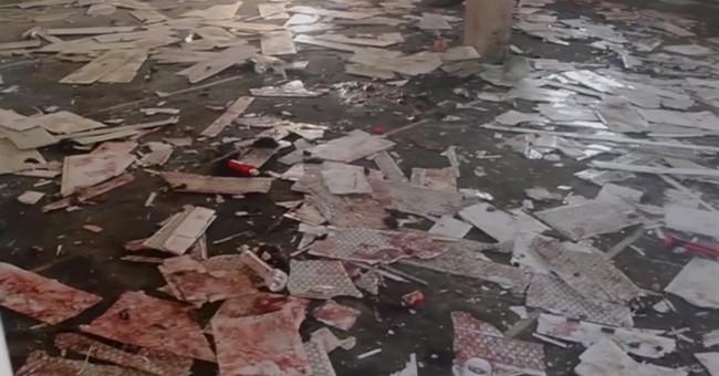 Bombing at Nigeria mosque kills at least 50
