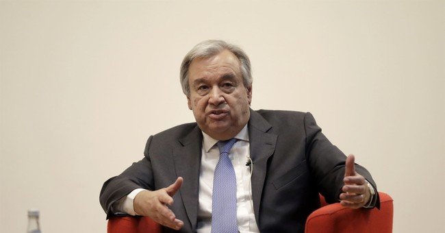 UN chief warns that traffickers may be guilty of war crimes
