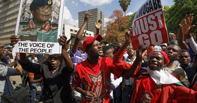 The Latest: US says Zimbabwe's people want end to isolation