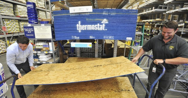 Lowe's gets a hurricane boost, but investors not blown away