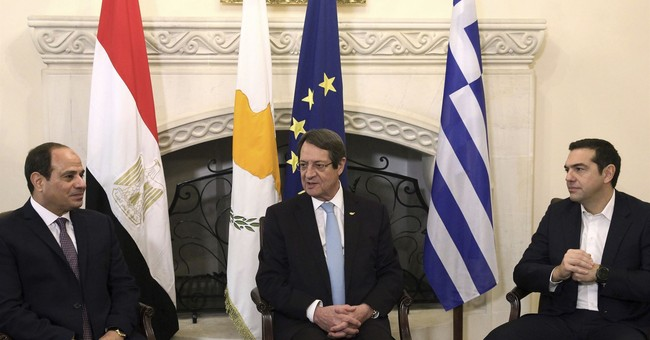 Leaders of Cyprus, Egypt, Greece pledge closer cooperation