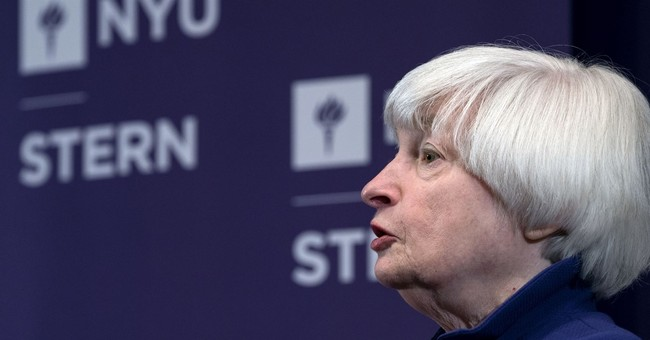 Yellen says Fed needs to avoid 'boom-bust'cycle in economy