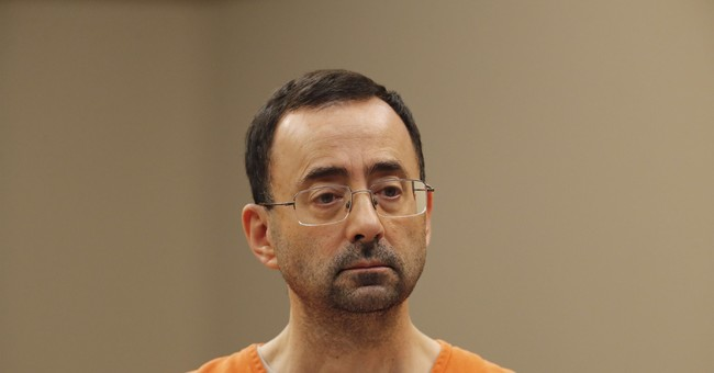 The Latest: Victims of ex-gymnastics doctor blame university