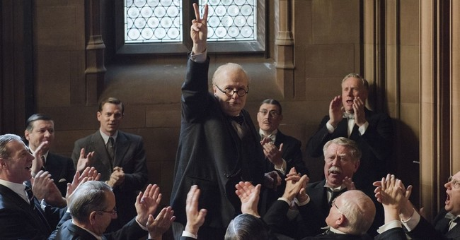 Review: Oldman gives us a human Churchill in 'Darkest Hour'