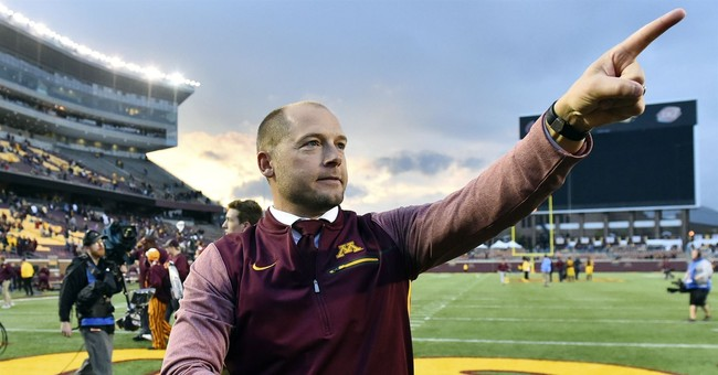 Minnesota, football coach agree to contract extension