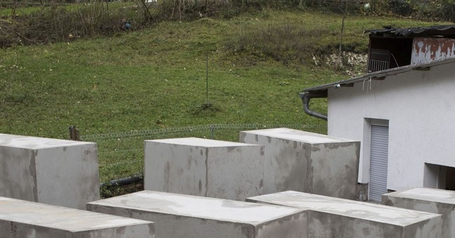 Holocaust memorial erected outside German nationalist's home