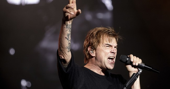 German rock star Campino expresses support for Merkel