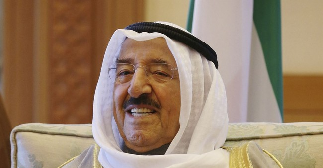 Kuwait's 88-year-old ruler admitted to hospital after cold