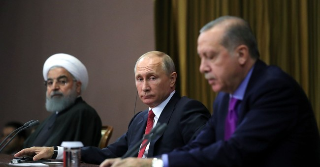 The Latest: General: Russia likely to scale down in Syria