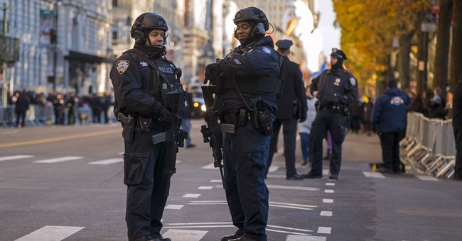 Macy's Thanksgiving parade revels on amid tight security