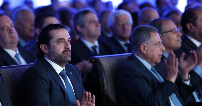 Lebanese PM Hariri assures bankers stability comes first