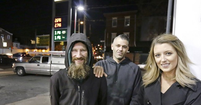 Woman raises more than $60K for homeless man who helped her