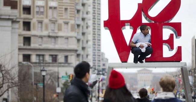 Philadelphia halts sale of Love Park keepsakes
