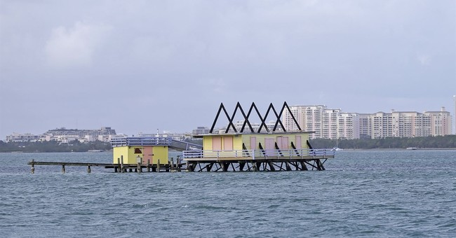 Miami's iconic offshore Stiltsville survived Hurricane Irma