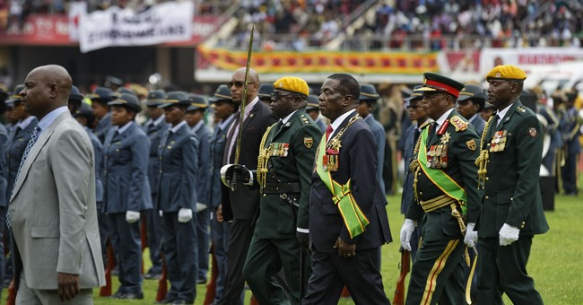 The Latest: Zimbabwe's new leader promises era of democracy