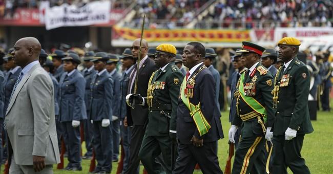 The Latest: Zimbabwe's new leader promises era of democracy