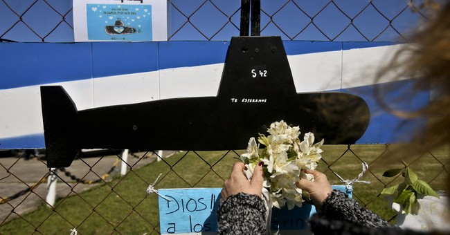 Argentina navy says missing sub was in good condition