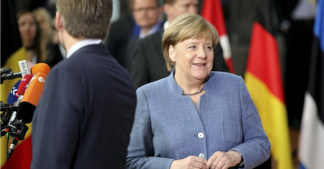 Germany's Merkel speaks out against new election