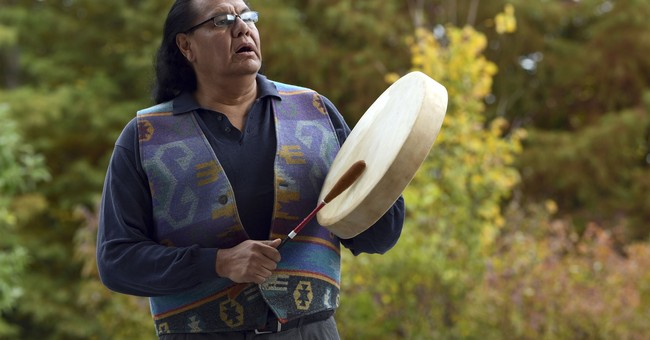In Indian Country, honoring flag might mean different anthem