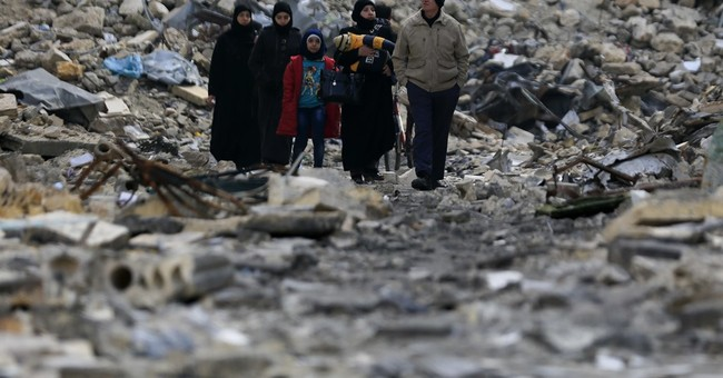 Rebuilding shattered Aleppo will take billions - and peace