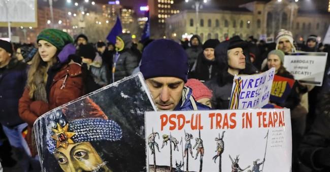 Weakened graft law ignites furor, protests in Romania