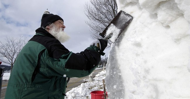 Snow sculpting teams gather in Wisconsin for national event