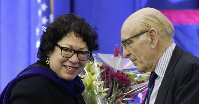 Sotomayor mentions Gorsuch obliquely in NYC college speech