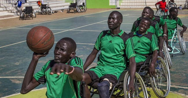 In South Sudan, wheelchair basketball distracts from war