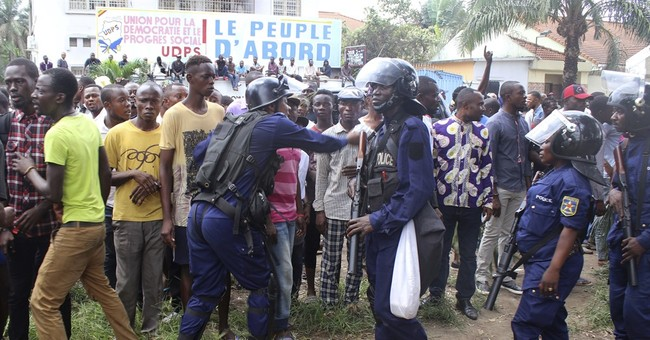 Police tear gas crowds backing late Congo opposition leader