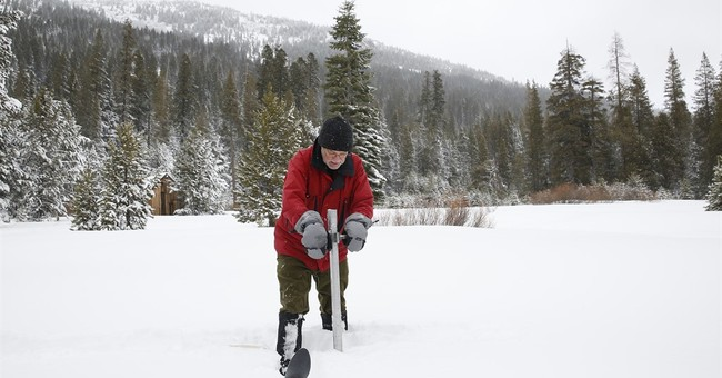 The Latest: California at heaviest snowpack in 22 years