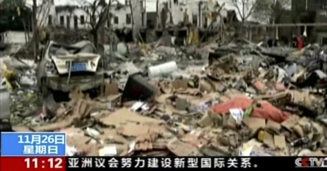 Explosion in Chinese port city kills 2, injures 30