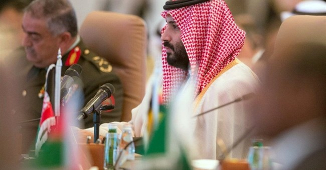 Saudi crown prince leads Islamic military alliance meeting