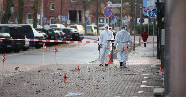 6 injured as car hits pedestrians in German town