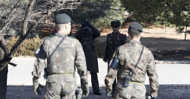 Report: Seoul broadcasts news of NKorean defection at border