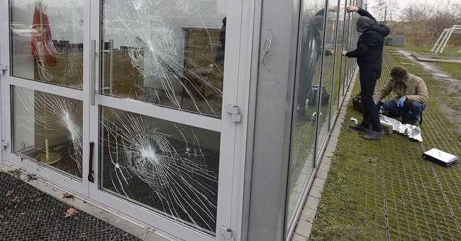 Poland probes mosque attack, far-right 'gallows' protest