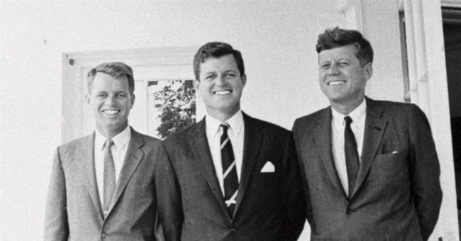 Hockey stick signed by JFK, brothers, goes on museum display