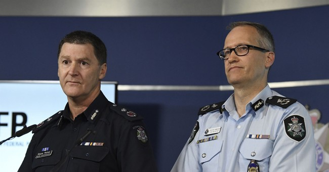 Australian police allege man planned New Year's Eve attack