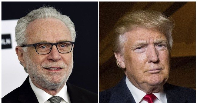 CNN's Blitzer fights back against Trump's attack
