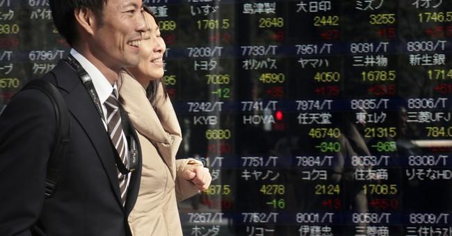 Global stocks rise, shrugging off North Korean missile