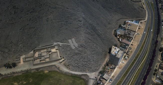 Peru's abundant ruins feel the squeeze of urbanization