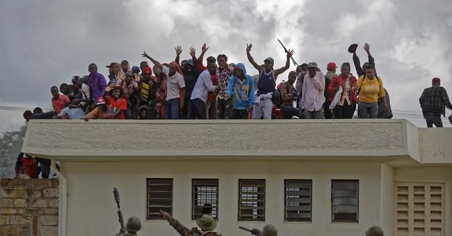 The Latest: US expresses concerns as Kenyan leader sworn in