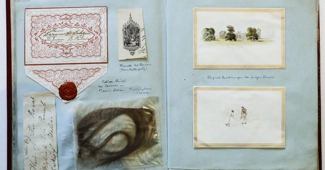 Scrapbook of Queen Victoria memorabilia on sale in Berlin