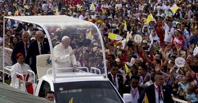 AP PHOTOS: Pope Francis celebrates Mass in Myanmar